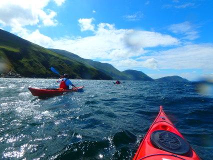 Sea Kayaking Isle Of Man The Venture Centre