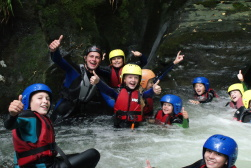 gorge walking summer camp