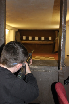 Target Shooting Birthday Party Adventure