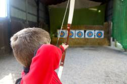 Archery down the range